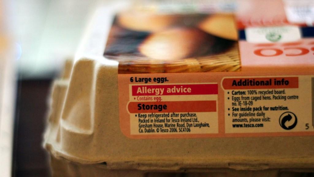 Les substances allergènes sont parfois (vicieusement) cachées