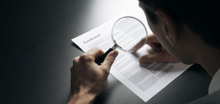 checklist contrats